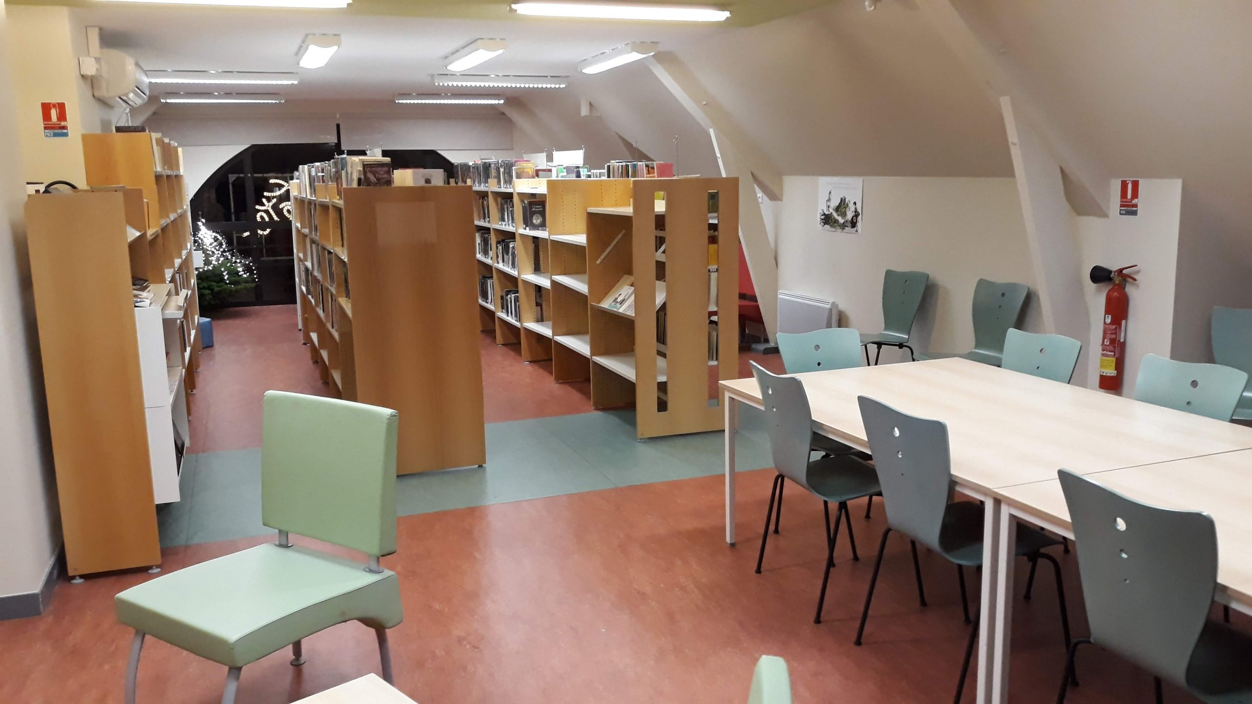 Fermeture estivale de la bibliothèque